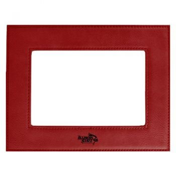 Illinois State University-Velour Picture Frame 4x6-Red