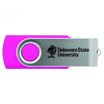 Delaware State University -8GB 2.0 USB Flash Drive-Pink