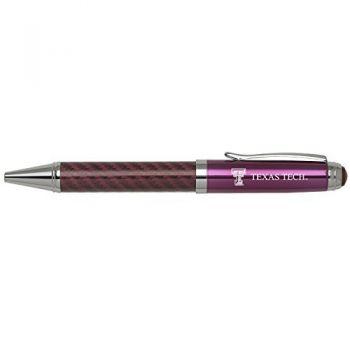 Texas Tech University -Carbon Fiber Mechanical Pencil-Pink