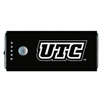 University of Tennessee at Chattanooga-Portable Cell Phone 5200 mAh Power Bank Charger -Black