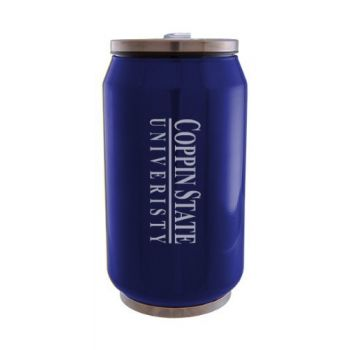 Coppin State University - Stainless Steel Tailgate Can - Blue