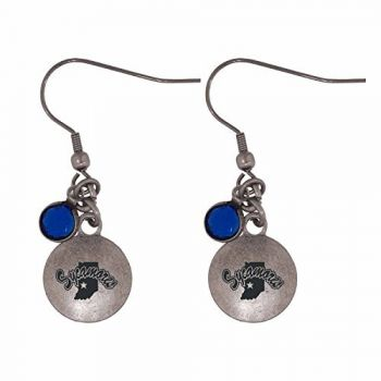 Indiana State University-Frankie Tyler Charmed Earrings