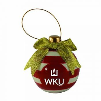 Western Kentucky University -Christmas Bulb Ornament