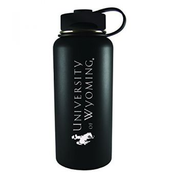 University of Wyoming -32 oz. Travel Tumbler-Black