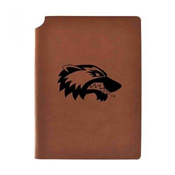 Utah Valley University Velour Journal with Pen Holder|Carbon Etched|Officially Licensed Collegiate Journal|