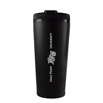 High Point University-16 oz. Travel Mug Tumbler-Black