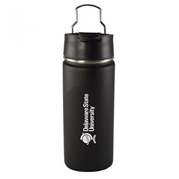 Delaware State University -20 oz. Travel Tumbler-Black
