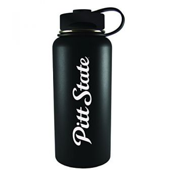 Pittsburg State University -32 oz. Travel Tumbler-Black