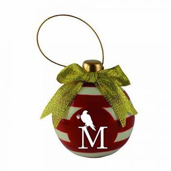 University of Montevallo-Christmas Bulb Ornament