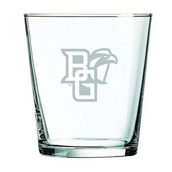 Bowling Green State University -13 oz. Rocks Glass