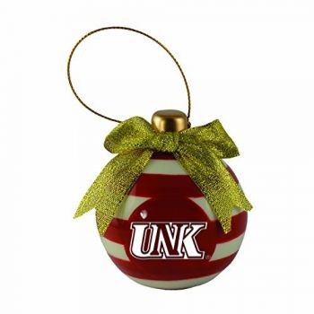 University of Nebraska at Kearney -Christmas Bulb Ornament