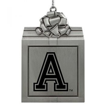 United States Military Academy -Pewter Christmas Holiday Present Ornament-Silver