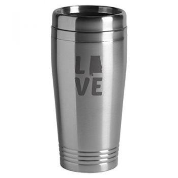 16 oz Stainless Steel Insulated Tumbler - Alabama Love - Alabama Love
