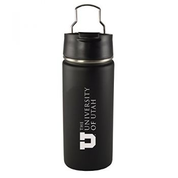 University of Utah-20 oz. Travel Tumbler-Black