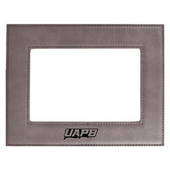University of Arkansas at Pine Buff-Velour Picture Frame 4x6-Grey