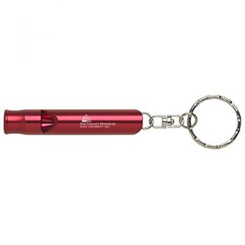 Southeast Missouri State University - Whistle Key Tag - Red