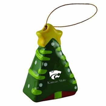 Kansas State University -Christmas Tree Ornament