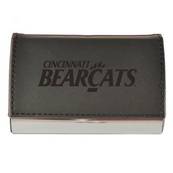 Velour Business Cardholder-University of Cincinnati-Black