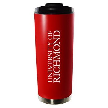 University of Richmond-16oz. Stainless Steel Vacuum Insulated Travel Mug Tumbler-Red