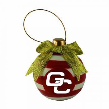 Georgia College-Christmas Bulb Ornament