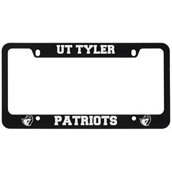 University of Texas at Tyler-Metal License Plate Frame-Black