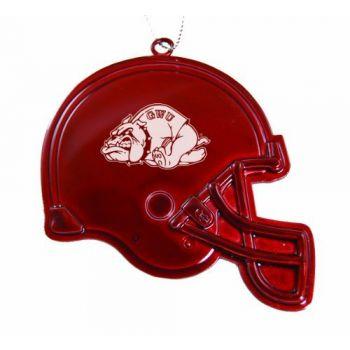 Gardner-Webb University - Christmas Holiday Football Helmet Ornament - Red
