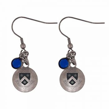 Columbia University-Frankie Tyler Charmed Earrings
