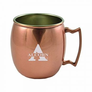 Alcorn State University-16 oz. Copper Mug