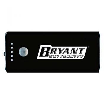 Bryant University -Portable Cell Phone 5200 mAh Power Bank Charger -Black