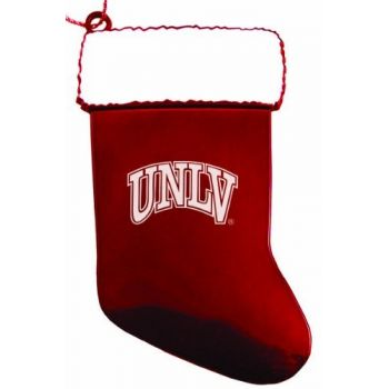 University of Nevada, Las Vegas - Chirstmas Holiday Stocking Ornament - Red