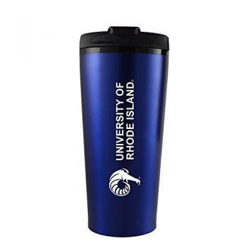 The University of Rhode Island -16 oz. Travel Mug Tumbler-Blue