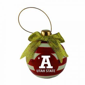 Utah State University -Christmas Bulb Ornament