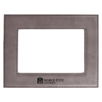 Marquette University-Velour Picture Frame 4x6-Grey
