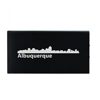 Quick Charge Portable Power Bank 8000 mAh - Albuquerque City Skyline