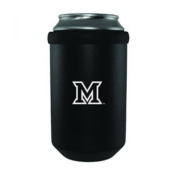 Miami University -Ultimate Tailgate Can Cooler-Black