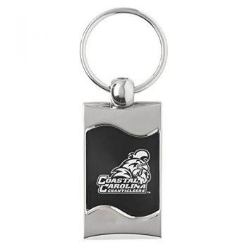 Coastal Carolina University - Wave Key Tag - Black