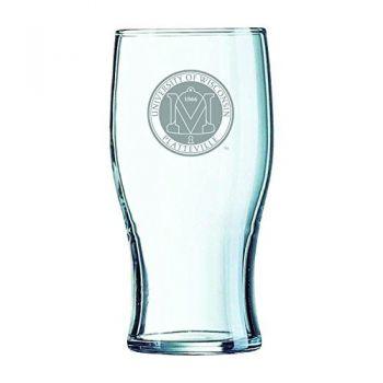 University of Wisconsin-Platteville-Irish Pub Glass