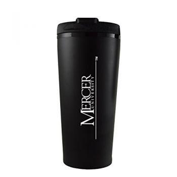 Mercer University -16 oz. Travel Mug Tumbler-Black