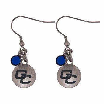 Georgia College-Frankie Tyler Charmed Earrings