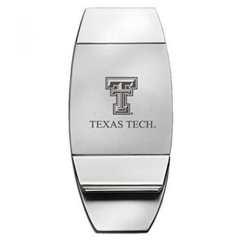 Texas Tech University - Two-Toned Money Clip