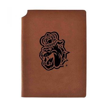 James Madison University Velour Journal with Pen Holder|Carbon Etched|Officially Licensed Collegiate Journal|