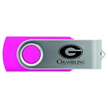 Grambling State University-8GB 2.0 USB Flash Drive-Pink