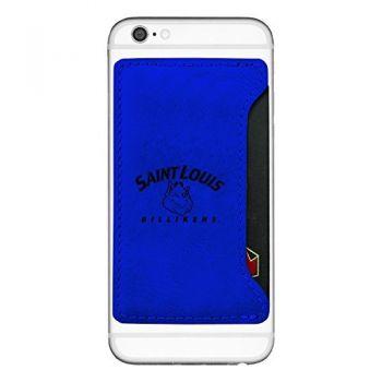 Saint Louis University-Cell Phone Card Holder-Blue