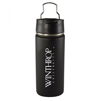 Winthrop University -20 oz. Travel Tumbler-Black