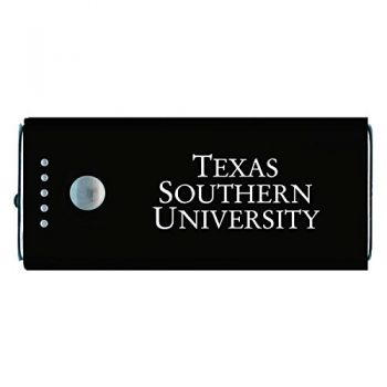 Texas Southern University -Portable Cell Phone 5200 mAh Power Bank Charger -Black