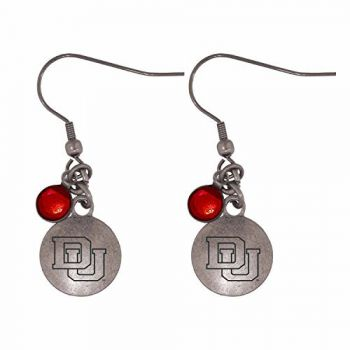 University of Denver-Frankie Tyler Charmed Earrings