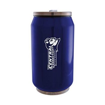 Central Connecticut State University - Stainless Steel Tailgate Can - Blue
