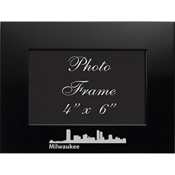 4 x 6  Metal Picture Frame - Milwaukee City Skyline