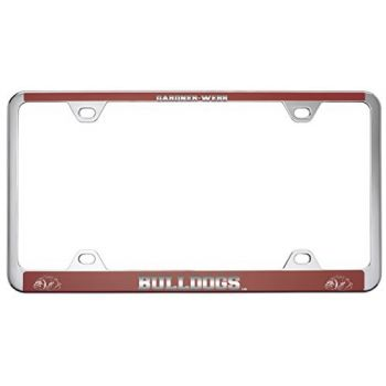 Gardner-Webb University-Metal License Plate Frame-Red