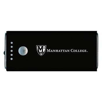 Manhattan College-Portable Cell Phone 5200 mAh Power Bank Charger -Black